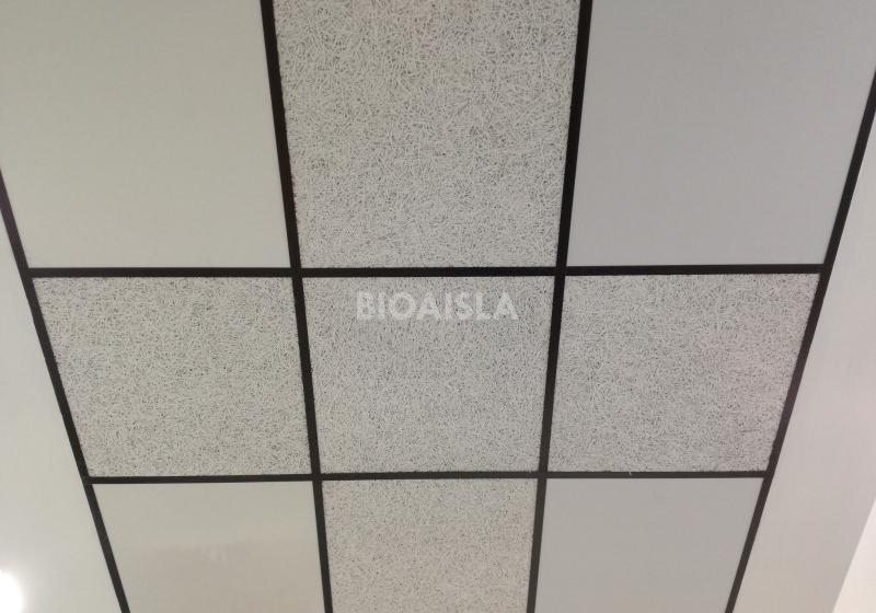 panel termoacústico ecológico, falsos techos