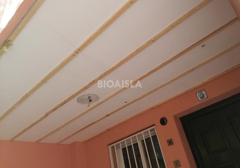 Instalación techos PVC