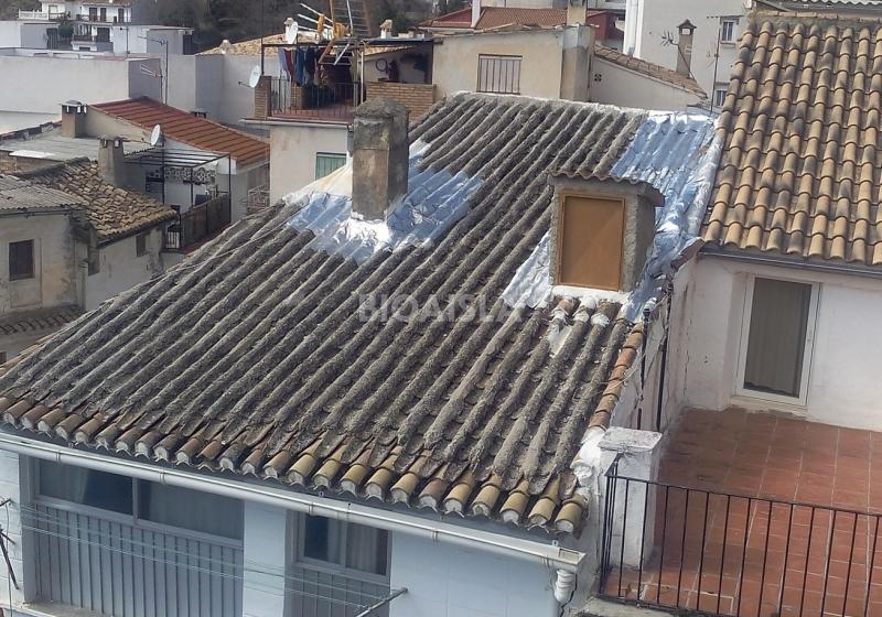 Goteras en tejado