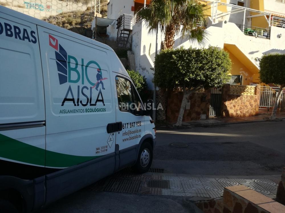 Aislamiento vivienda Agua dulce (Almería)