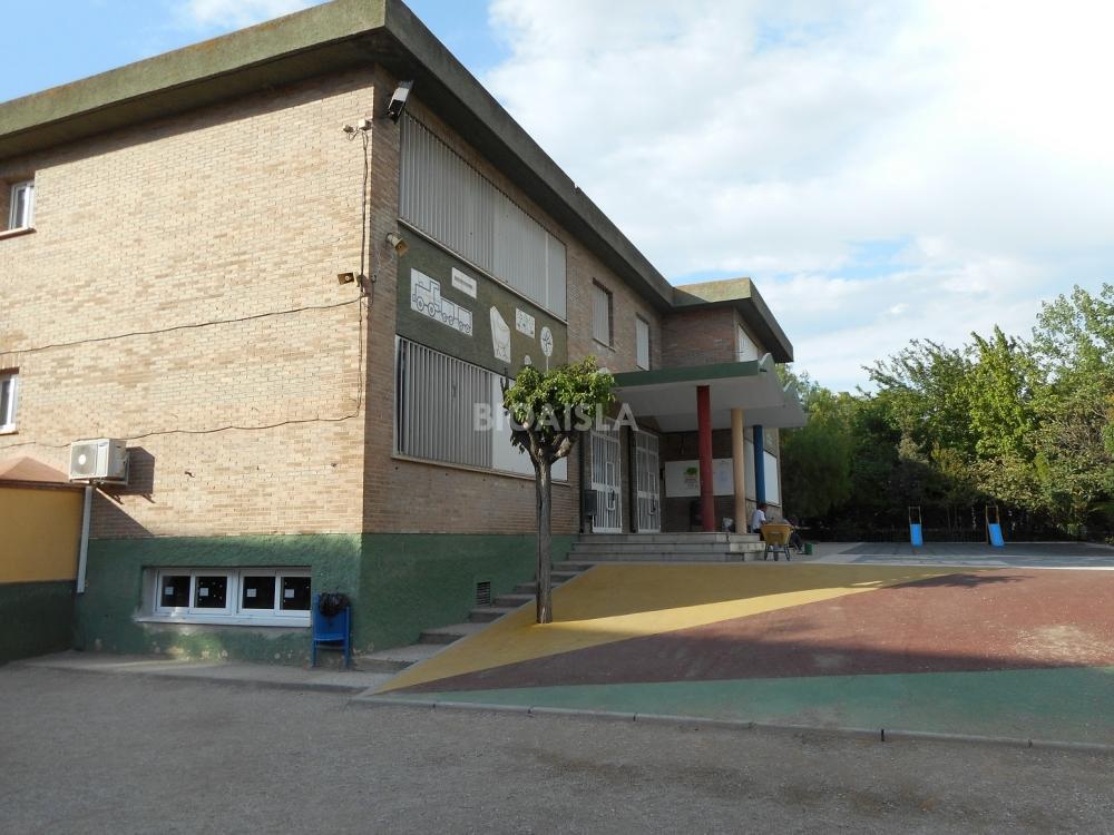 Aislamiento térmico en colegio Granada