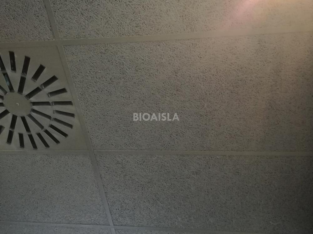 Falso techo registrable termo acústico para locales comerciales