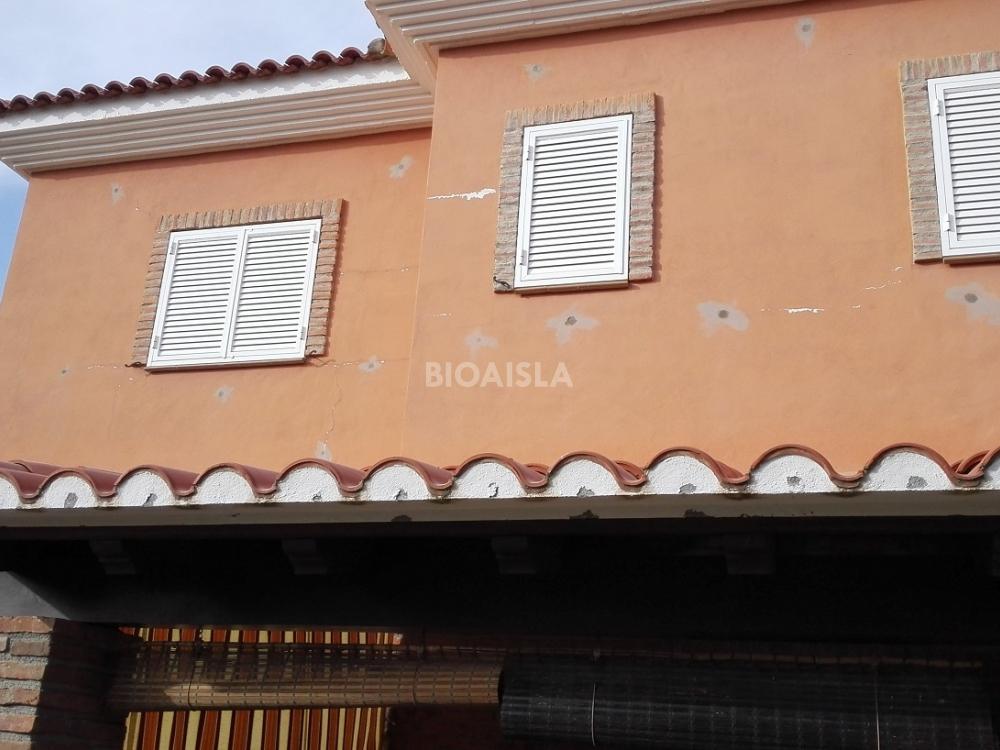 Aislamiento térmico insuflado desde el exterior,Granada.