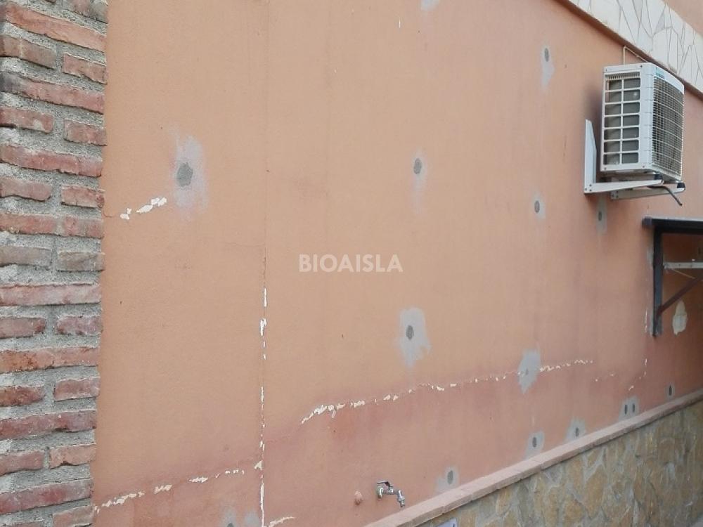 Aislamiento térmico aplicado en la fachada de una vivienda Granada.