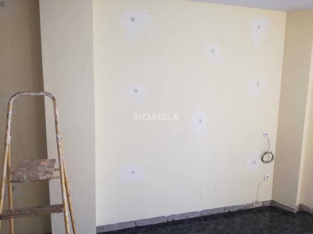Tapado de patrones en la pared.