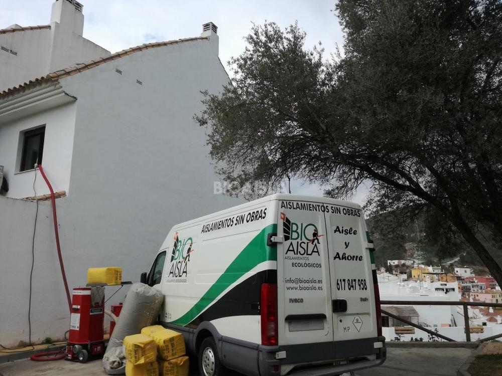 Aislamiento térmico inyectado en Benahavís, Málaga