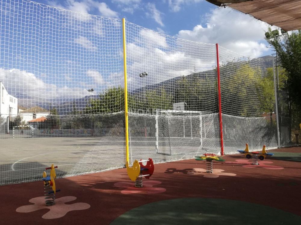 red deportiva pistas de futbol