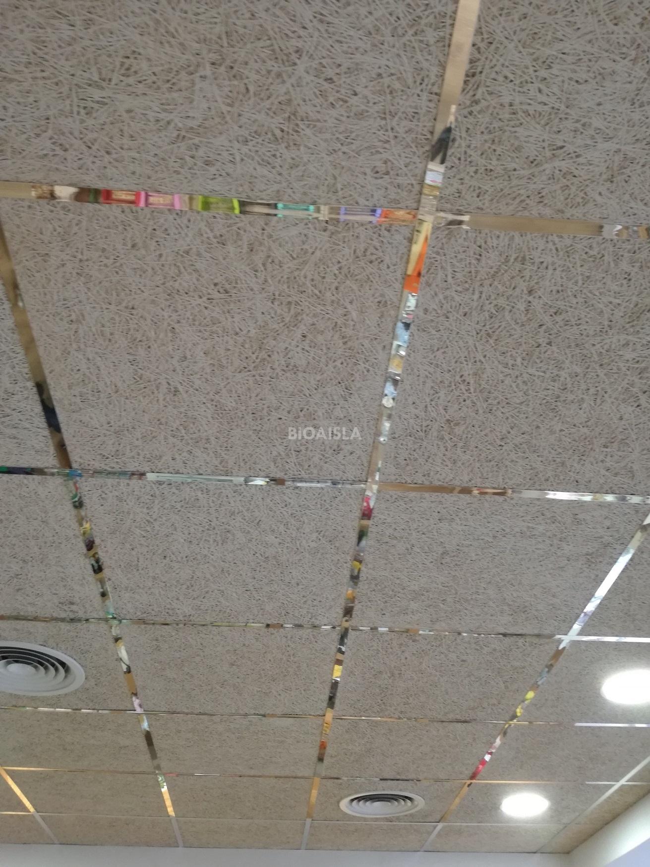 Falso techo registrable termo ac stico con materiales - Materiales para techos falsos ...